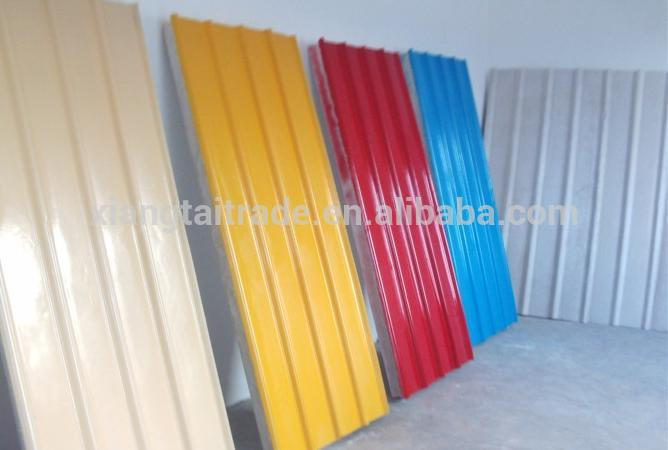 corrugated roofing Color coated Galvanized steel coil sheet,aluzinc roof steel sheet for selling