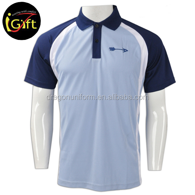 custom promotion team wear man sport polo t-shirt 100% cotton