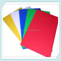 Green 2015 hot sale pvc forex board 3mm/ 5mm for silk screen digital printing