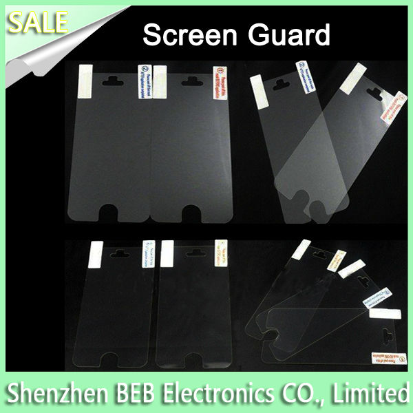 In stock anti-scratch screen guard for mobile phone has cheap factory price
