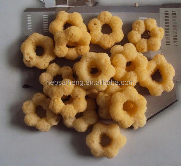 Hot sell different kinds food puffed snacks production line