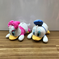 Cute Donald Duck Stuffed peluches plush toy custom movie cartoon character wholesale for crane machines