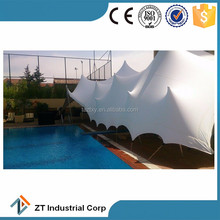 waterproof polyester stretch tent in shandong china