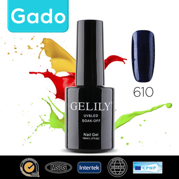 Gado Wholesale Gelily Colorful gel polish from china