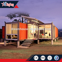 prefab shipping container house price for sale/prefabricated houses container/container villa