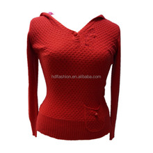 China wholesale knitted pullover tight fitting sweater