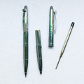 Elegant Electroplated Bright Chrome Metal Ball Pen Silver Twist Action Retractable Ball Point Pen