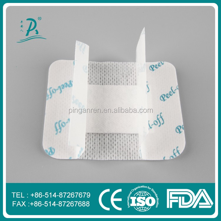 Surgical breathable nonwoven sterile wound dressing patch