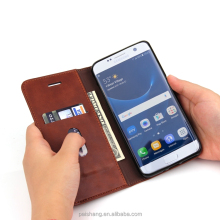 with Stand function for samsung s7 edge Money pocket leather phone case