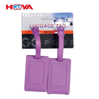 Personalized hard Plastic Luggage Tag