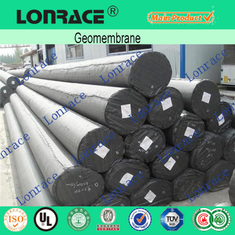 clear dam liner 1.5mm hdpe geomembrane