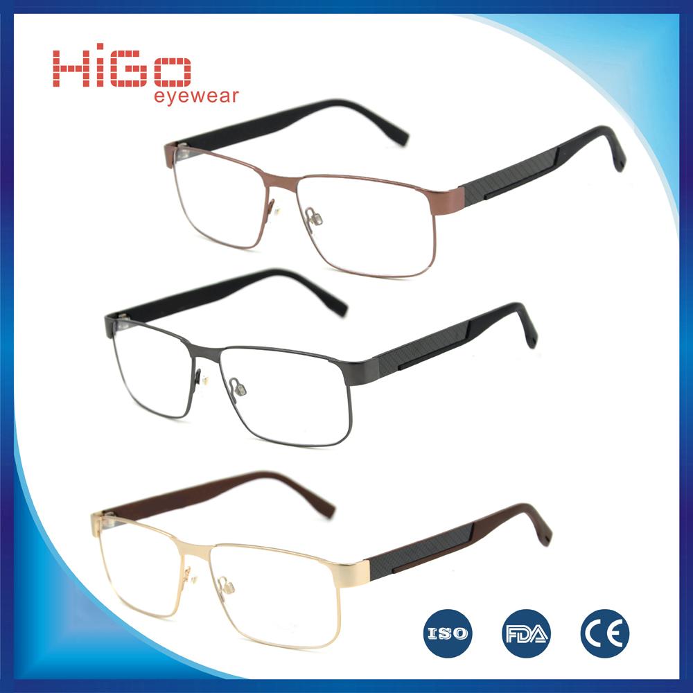 2015 popular eyeglasses frames memory metal optical