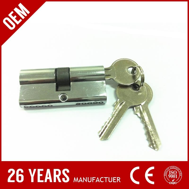 water valve lock key for promotion. 2016 hot collection security lock cylinder