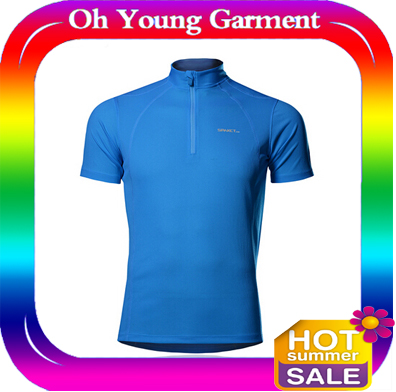100% Polyester Quick Dry Moisture Performance Loose Fit Men's Athletic All Sport
