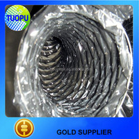 Aluminum foil polyester insulated flexible duct,rectangular flexible duct made in china,