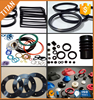 custom design silicone round flat rubber gasket