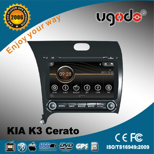 ugode for KIA K3/CERATO touch screen car dvd player
