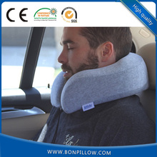 Free shipping New Patent design U shape memory travel neck pillow