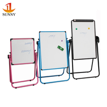 Wholesales office school glass whiteboard with roller stand for kids