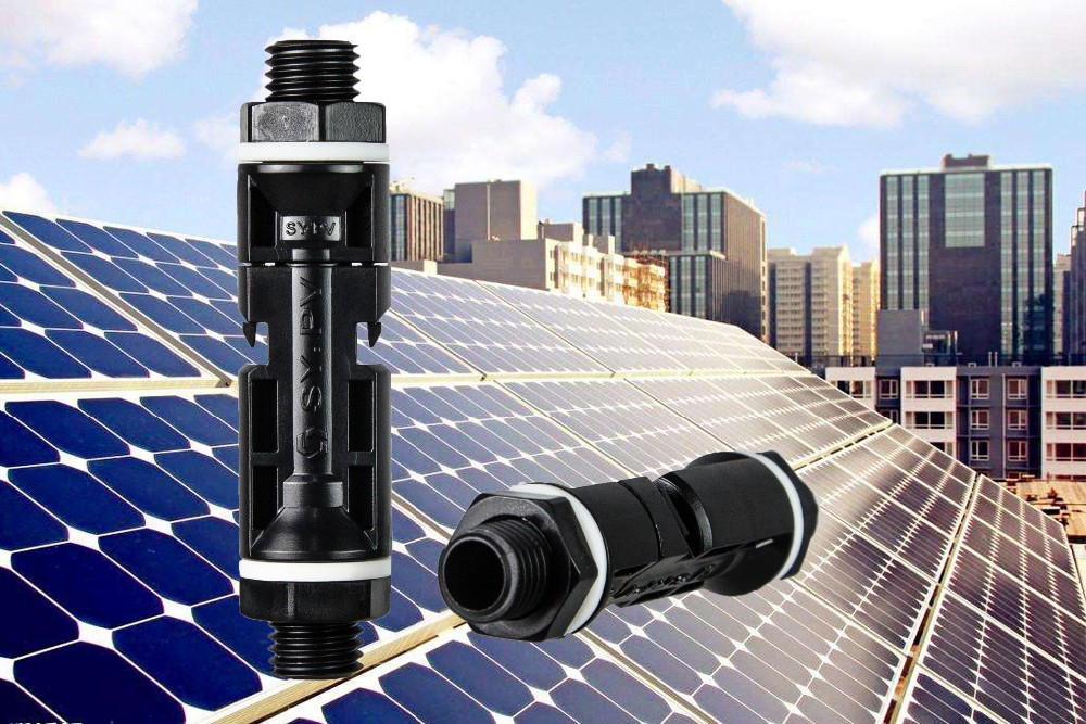 TUV MC4 Solar Deck Panel IP67 Junction Connector PV Cable Connector Solar Panel Connector