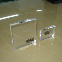 high transparent bright clear acrylic glass block