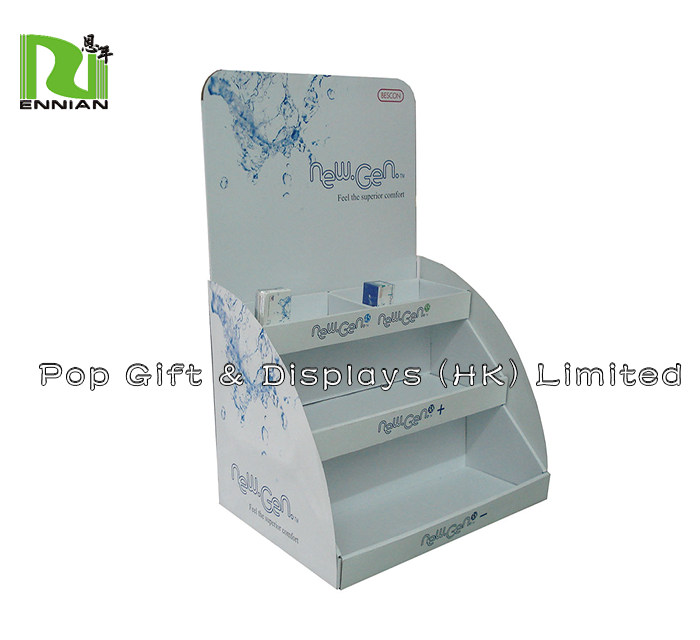 Cardboard Pdq Retail Shop Display Counter For Make Up