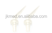 Disposable Dental Mixing Head for delivering dental cements