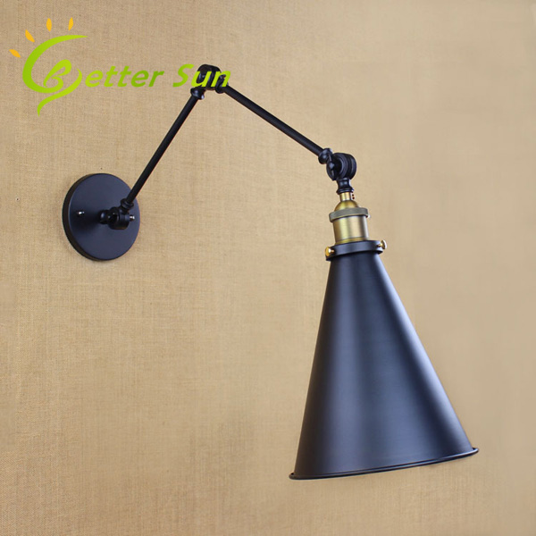 modern wall lamp for office adjustable vintage led wall