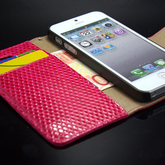 Strap Leather Magic Case for iPhone 5 Cell Phone Covers