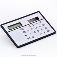 Promotional 3MM Plastic Mini Pocket Calculator, mini calculator