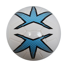 Machine Sewn Soccer Ball 32 Panels Winding Rubber Bladder High Quality Promotional Football