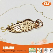gold nice design low price rack plating zinc alloy zip puller
