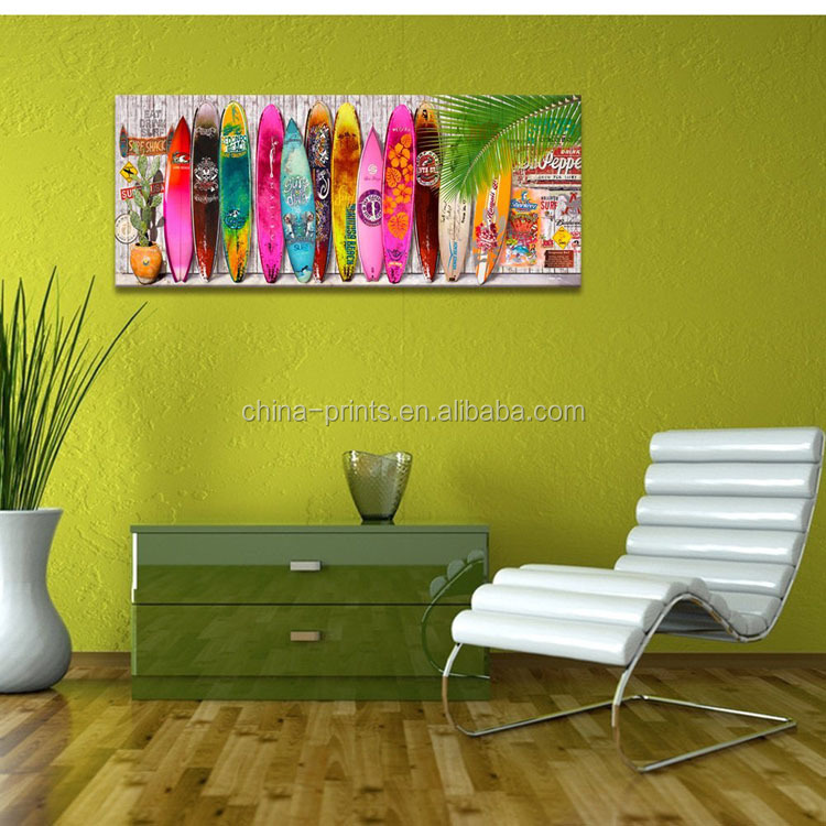 Surfboard Wall Art Beach Decor / Beach Art Wall Decor/Surfboard Wall Art print