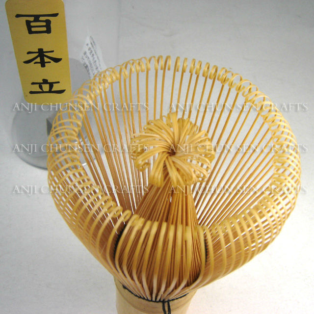 Japanese tea ceremony Bamboo tea whisk chasen