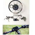 Rear brushless motor electric bike kit 5000 watt hub motor
