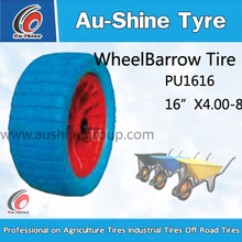 4.80/4.00-8 wheelbarrow pneumatic rubber tire/ 4.00-8 wheel barrow wheel with plastic rim