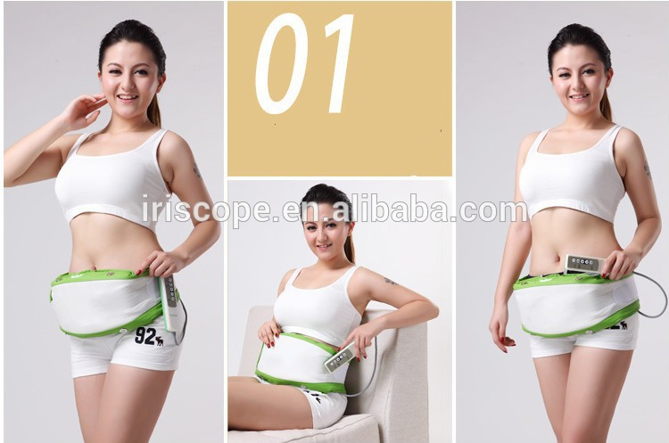 Calf and thigh belly vibrator belt massager machine