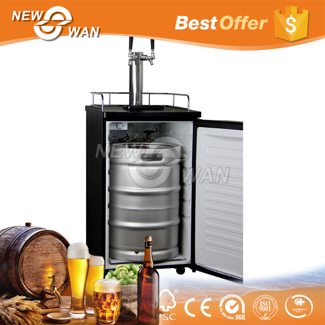 Double Tap China Beer Kegerator with High Cooling Efficiency