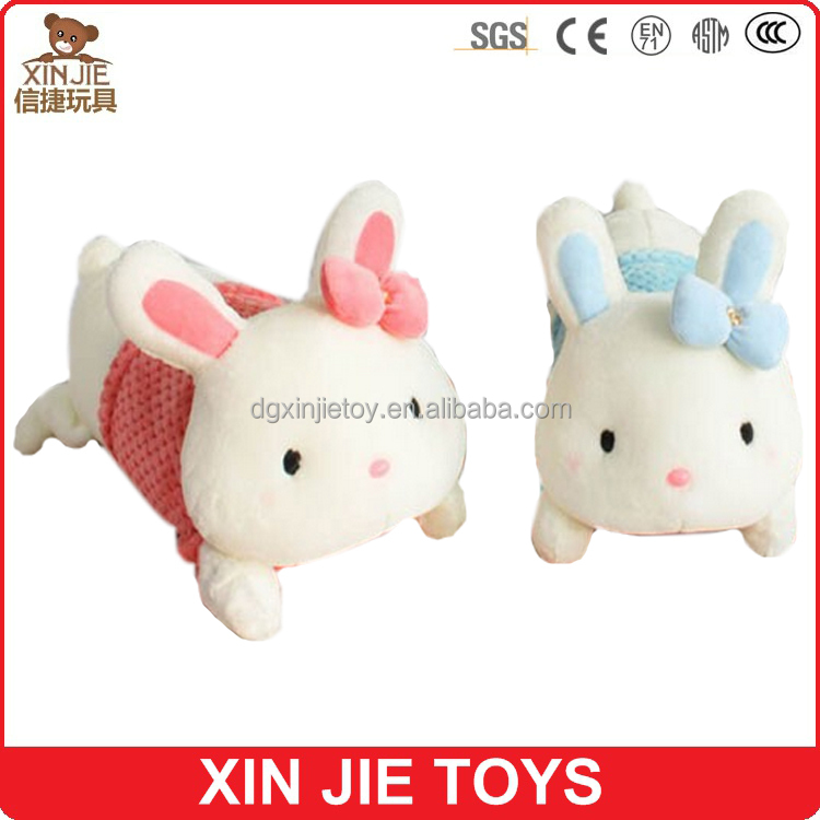 EN71 standard lovely rabbit plush toy good quality stuffed rabbit manufacturer