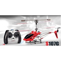 3 Channel Remote Control Helicopter Syma S107G With Gyroscope Red