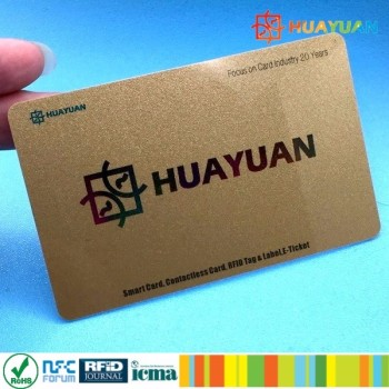 13.56MHZ RFID Contactless MIFARE Plus S 2K Membership Plastic Card for E-payment