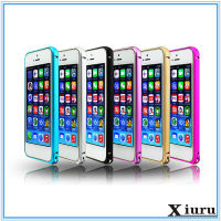 Metal Frame Full Protector Cell Phone Case Cover For Iphone 5 5S SE