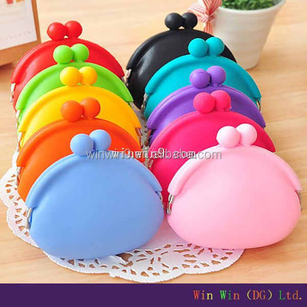Popular Silicone Change Purse/Silicone Coin Purse/promotional fashionable women sex horse silicone bag