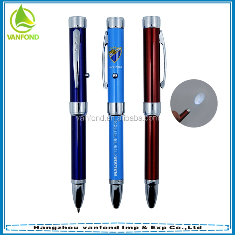 High quality custom laser logo metal projector pen