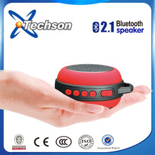 Ultra lighweight only 101gram mini portable speaker with bluetooth transmission