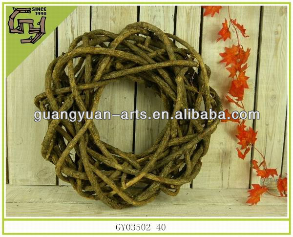 Wild natural material rattan wreaths