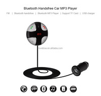 New 2016 Wireless Stereo Bluetooth 4.0 Handsfree Phone Car Kit With FM/ USB Charger