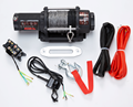 portable electric atv winch 4500lb 2 ton capacity with wireless remote control