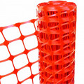 China Factory Orange HDPE Plastic Safety Netting