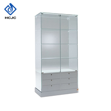 Professional design installs quickly display cabinet malaysia